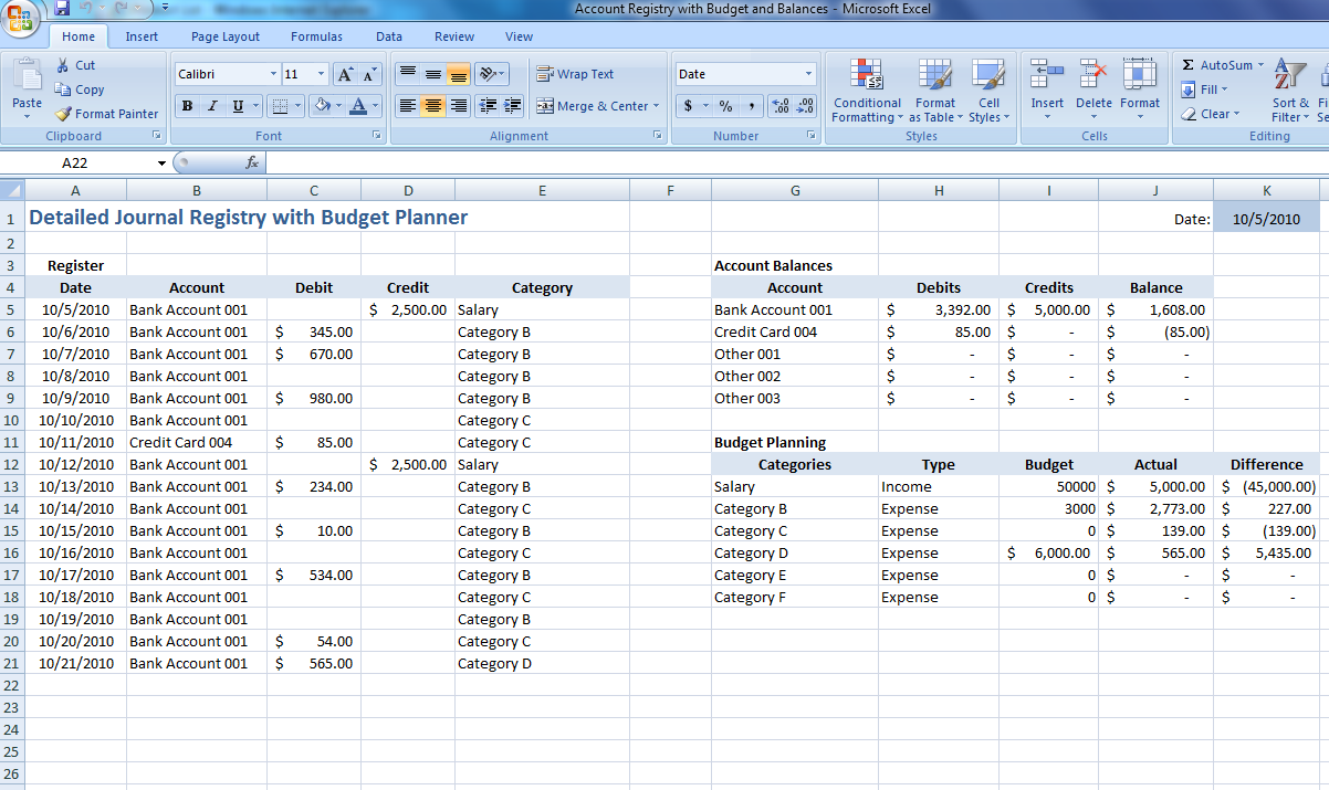 10+ Expenditure Budget Template   Docs, Excel, PDF   Free