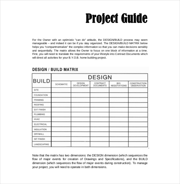 Construction Budget Template – Free, Detailed Budget Template for