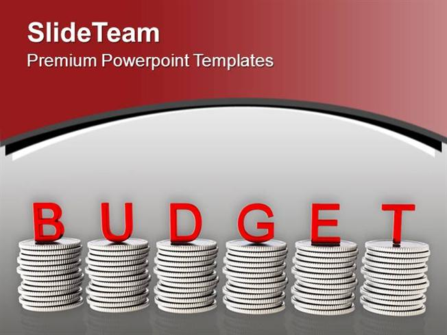 To Manage Money Make Budget Powerpoint Templates PPT Themes And Gr