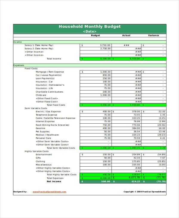 Home Budget Worksheet Uk Excel Templates Spreadsheet Ree Printable