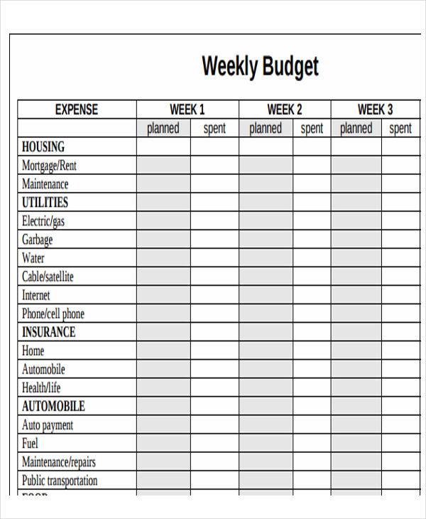 monthly calendar budget template budget calendar template free
