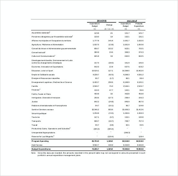 Capital Expenditure Budget Template Example Format , 13 Excel