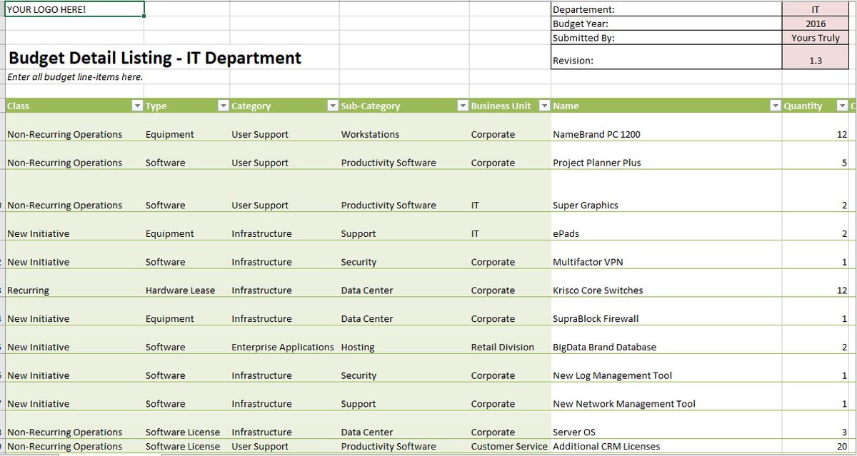7 Excel templates to help manage your budget   TechRepublic