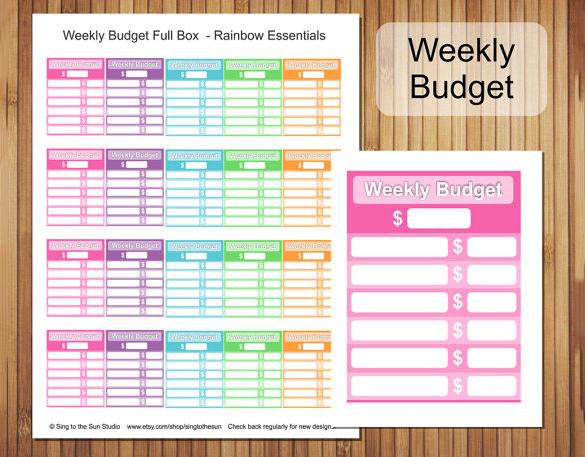 33+ Budget Templates   Word, Excel, PDF | Free & Premium Templates
