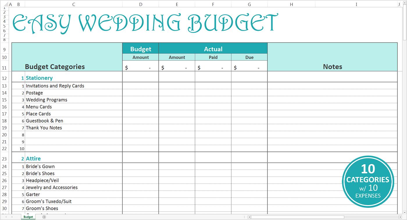 Personal Budget Calculator Excel Template Adsheet Uk Nz Wedding