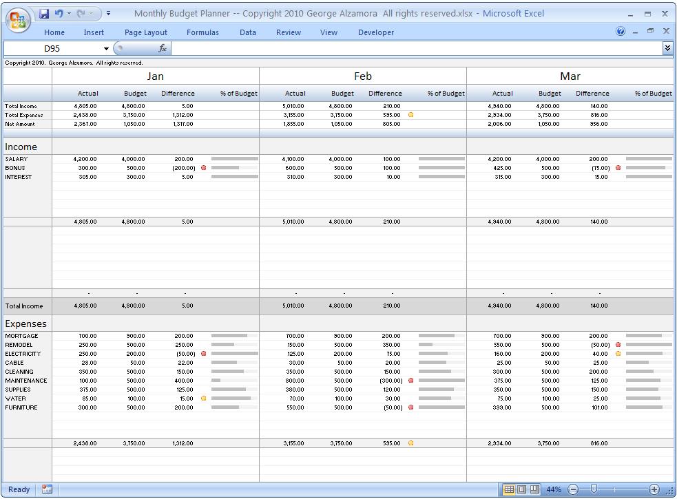 calendar budget template excel – printable weekly calendars