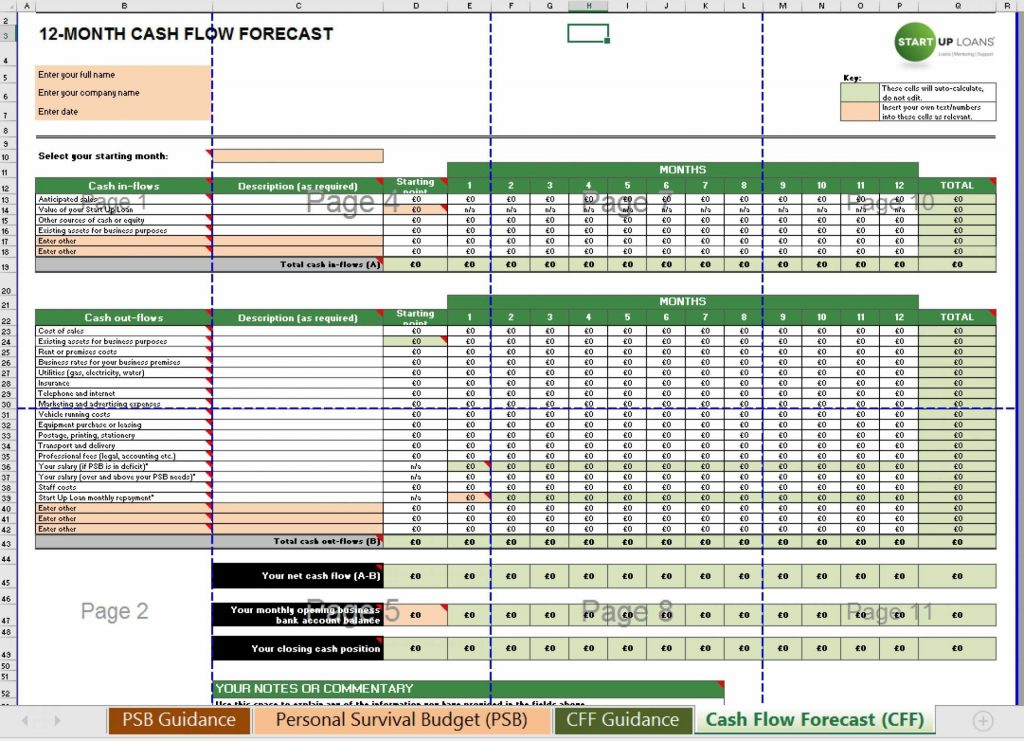 Farm Budget Spreadsheet Excel Worksheet Xls | ilaajonline.com