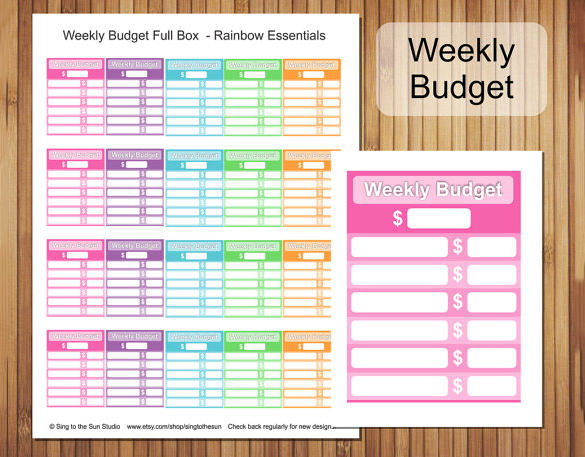 Free Budget Template Download Template Creator