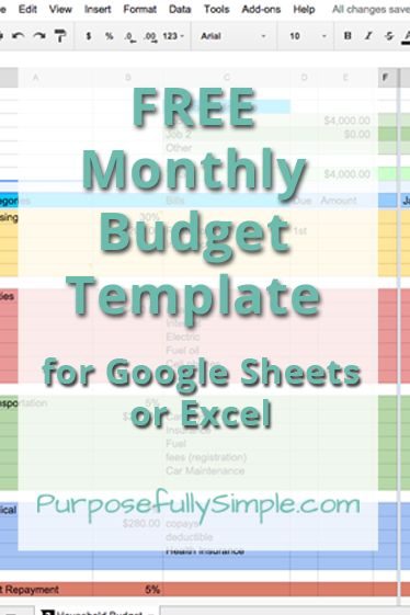 16+ Budget Spreadsheet Templates   Sample, Example, Format