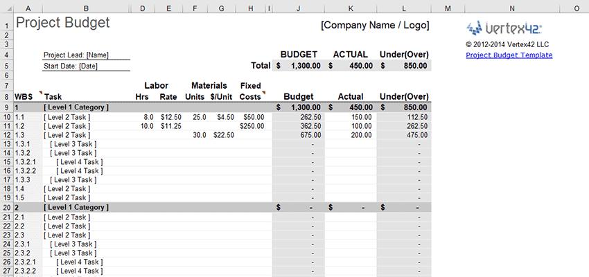 10 Free Excel Templates for Freelance Designers   1stWebDesigner