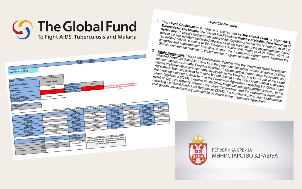 Serbia completed project application to the Global Fund – Drug