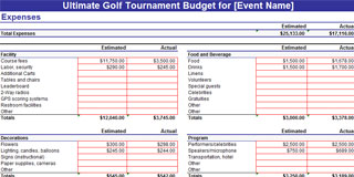 Golf Tournament Planning for Fundraising Tournaments