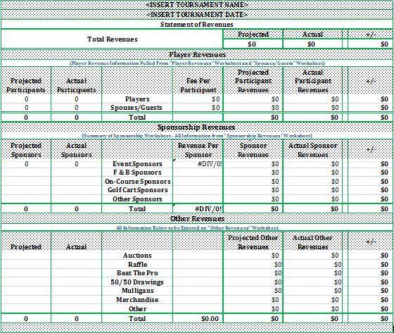 soccer tournament budget template basketball tournament budget
