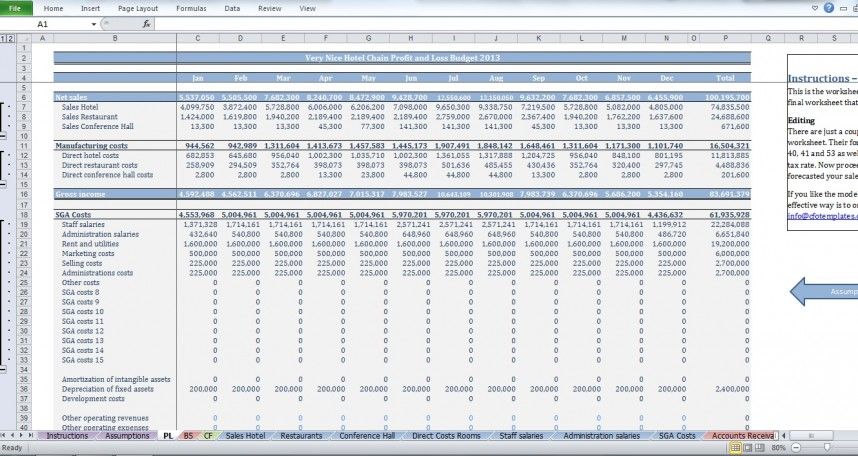 Family T Template Construction Spreadsheet Hotel New House Cost