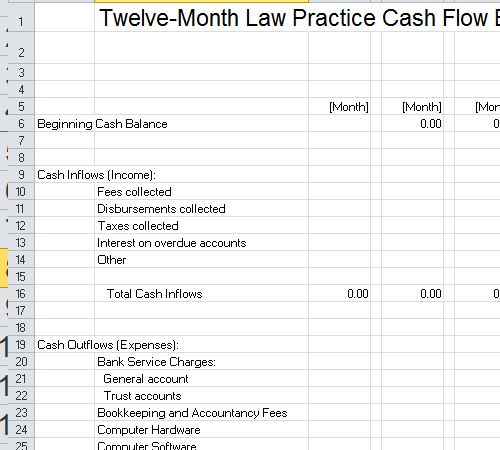 Law Firm Budget Template Excel   | excel | Excel budget template