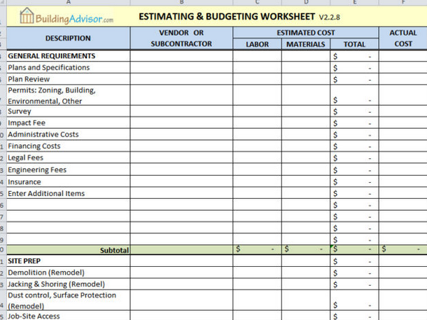 006 Line Item Budget Template Singular Ideas Format Sample