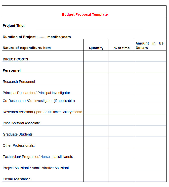 Marketing Budget Template   30+ Free Word, Excel, PDF Documents