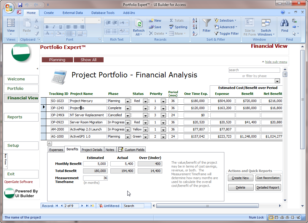 Microsoft Access Database Templates Free – Teplates for every day