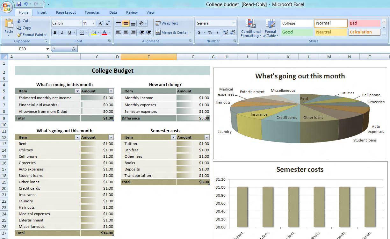 008 Microsoft Office Budget Templates Plan 20microsoft Project