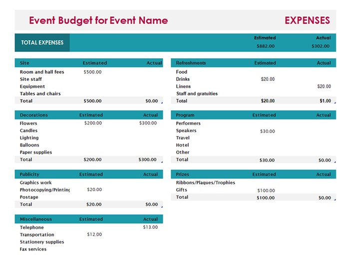 hatunugi.  115/117   Excel Personal Budget Template