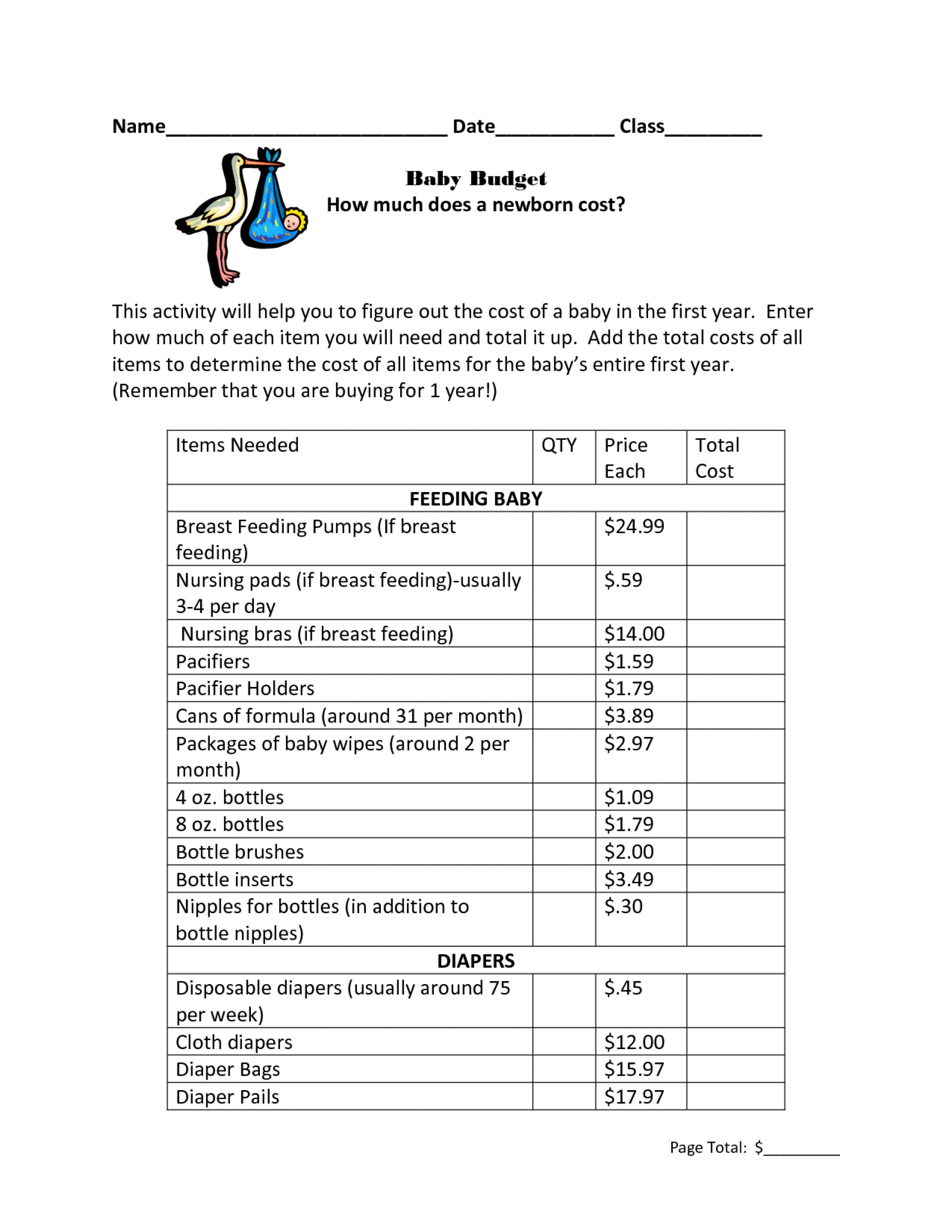 10+ Vacation Budget Template   Free Sample, Example, Format