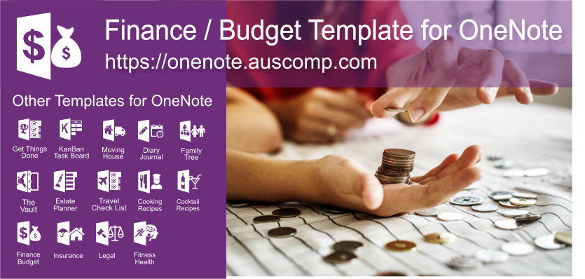 Pin by Pam Navarra on Dinero in 2019 | Budgeting finances, Onenote
