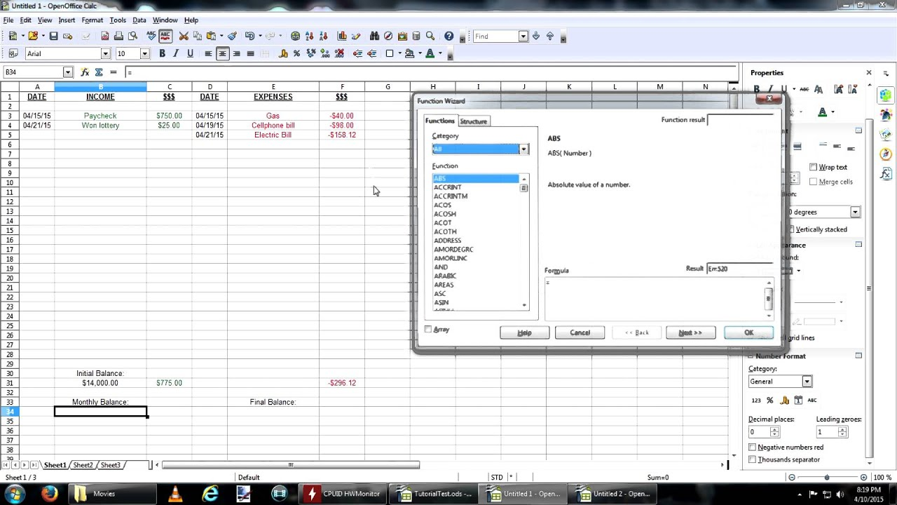Spreadsheet Monthly Budget Template Excel Best Of Personal Basic