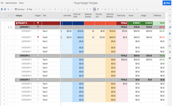 Project Budget Template (Excel)   Have your budget ready in 15 minutes