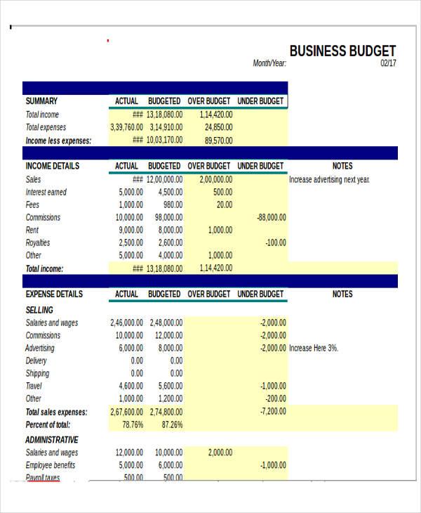 expense template for small business   Monza.berglauf verband.com