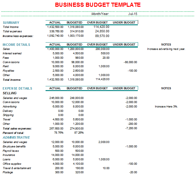 Spreadsheetusiness Monthly Expenses Yelom Myphonecompany Coudget