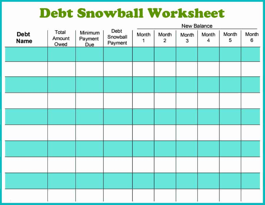 Debt Reduction Calculator | Debt Snowball Calculator