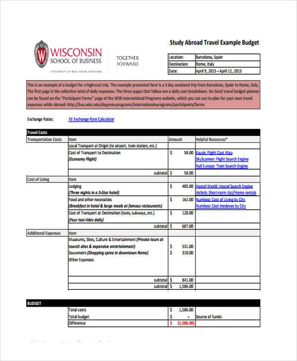 22 Free Budget Templates | Free & Premium Templates