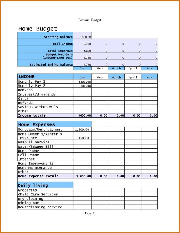Numbers Budget Spreadsheet   Outlookdirectory.com