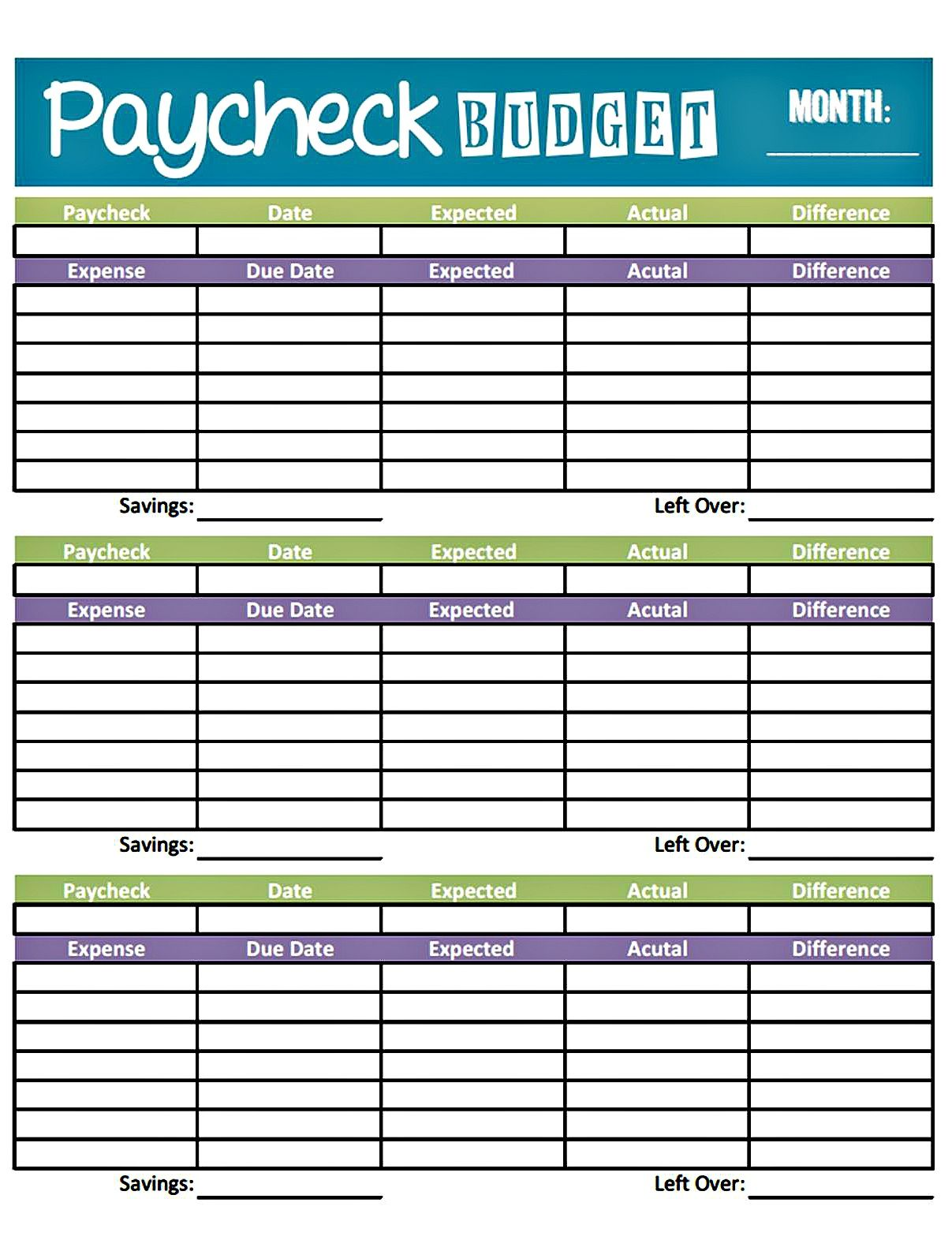 Weekly Budget Template   16+ Smart Planners for Excel & PDF