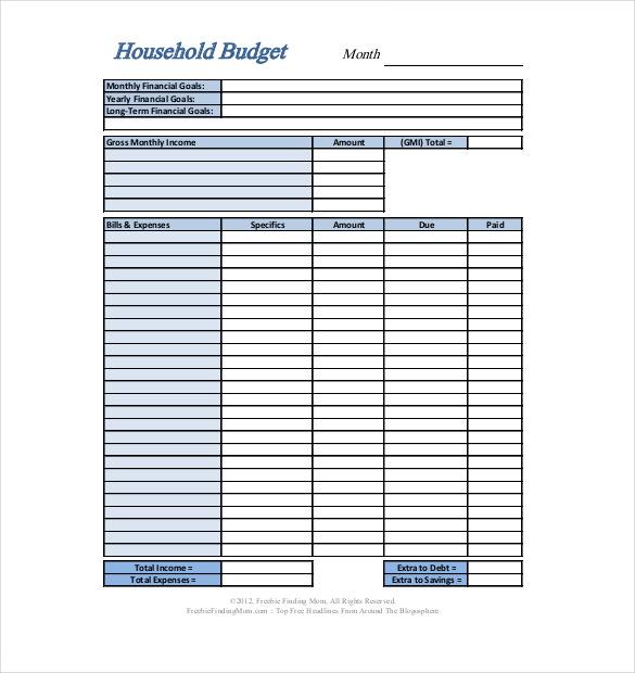 budget template download   Monza.berglauf verband.com
