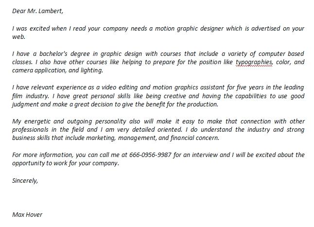 Designer Cover Letter Primary Taken Happy
